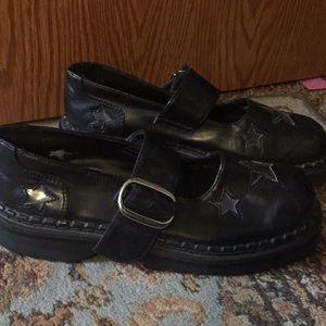 Hot Topic Shoes - Black Hot Topic Mary Janes